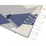 futah beach towels single Hippocampus Single Towel Indigo Blue 2_min